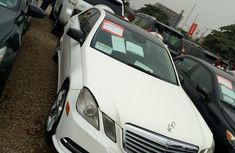 Clean Registered Mercedes-Benz E350 2010 White for sale
