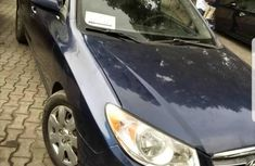 First Grade Hyundai Elantra 2007 Blue for sale