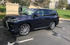 Clean Tokunbo Lexus LX570 2017 Black for sale