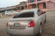 Clean Nissan Maxima 2004 Silver For Sale