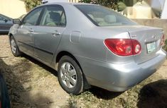 Toyota Corolla 2006 Silver for sale