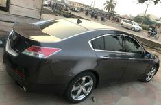 Foreign Used Acura TL 2010 Black for sale