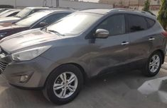 Clean Hyundai IX 35 2012 Gray for sale