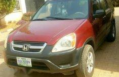 Clean Honda CR-V 2005 Red for sale