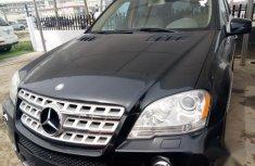 Mercedes-Benz M Class ML550 2011 Black for sale