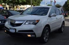 Clean Acura MDX Technology Package 2011 White for sale