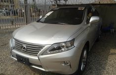 Lexus RX 2013 Petrol Automatic Grey/Silver for sale