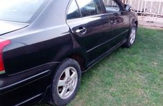 Used Toyota Avensis 2006 Black for sale