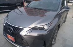 Foreign Lexus Nx200t 2017 Gray for sale