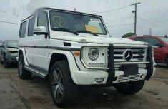 Mercedes-benz G550 2015 White