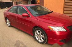 Tokunbo Toyota Camry 2008 Red for sale