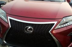 Lexus RX 350 2016 Red for sale