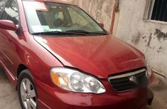 Toyota Corolla Sport 2004 Red for sale