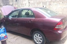 Clean Toyota Corolla 2004 Red for sale
