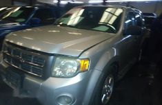 Clean Nigerian Used Ford Escape 2009 Silver