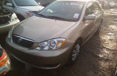 Tokunbo Toyota Corolla 2008 Gold for sale
