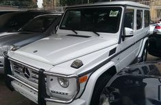 Mercedes Benz G550 2014 White for sale