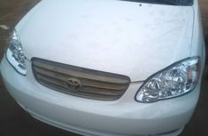 Toyota Corolla 2004 White for sale