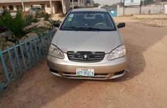 Gold Used Toyota Corolla 2003 for sale