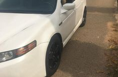 Clean Acura TL 2006 White for sale