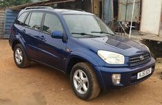 Toyota Rav4 2001 Blue For Sale