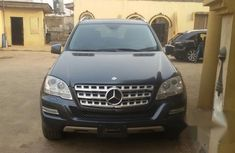 Mercedes Benz Ml350 2011 Blue for sale