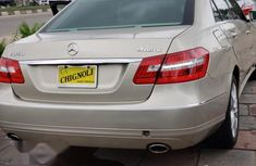 Mercedes Benz E350 2010 Silver for sale