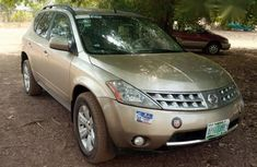Clean Neatly Used Nissan Murano 2006 Gold For Sale