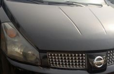 Nigerian Used Nissan Quest 2004 Black For Sale