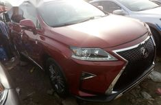 Lexus Rx 350 2012 Red for sale