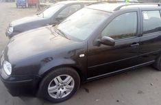 Volkswagen Golf 2003 Black for sale