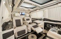 Check out the VIP ₦155m KLASSEN Mercedes-Benz Viano Limousine luxury office