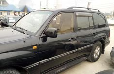 Tayota Land Cruiser 2000 Black for sale