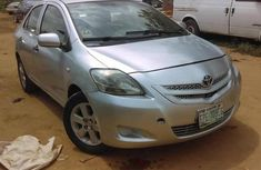 Neatly Used Toyota Yaris 2009 Silver For Sale