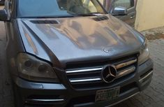 Mercedes Benz GL550 2014 Gray for sale