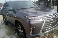 Clean Used Lexus LX 570 2018 Gray For Sale