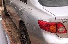 Clean Toyota Corolla 2009 Silver for sale 1.1M