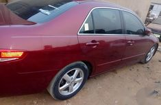 Clean And Neat Used Honda Accord 2003 Red for sale