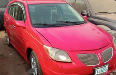 Pontiac Vibe 2007 Red for sale