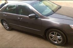Clean Honda Accord 2006 Brown For Sale