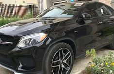 Mercedes Benz GLE 2016 Black For Sale