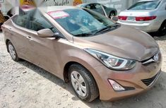 Hyundai Elantra 2016 Brown For Sale