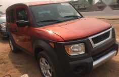 Honda Element 2007 Red for sale