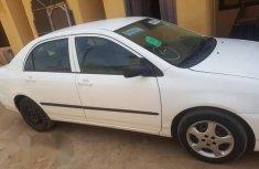 Toyota Corolla 2005 White for sale