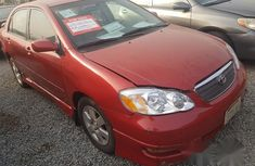 Toyota Corolla S 2004 Red For Sale