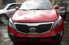 Kia Sportage 2012 model Red for sale