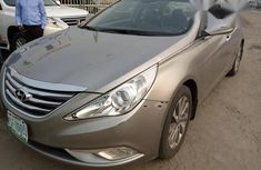 Hyundai Sonata 2015 Gold for sale