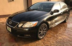Clean Lexus GS 300 2007 Black for sale