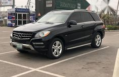 Mercedes-Benz M Class ML350 2012 Black for sale