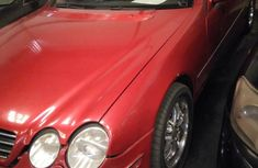 Mercedes-benz CL500 2000 Red for sale
